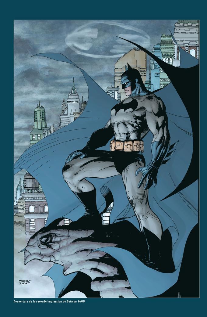 Le Batman de Jim Lee, le plus marquant de la décennie des années 2000.