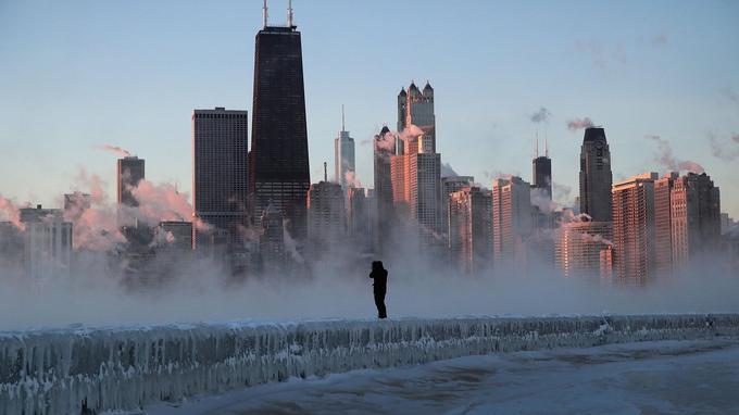 Chicago fait face à des températures extrêmes.