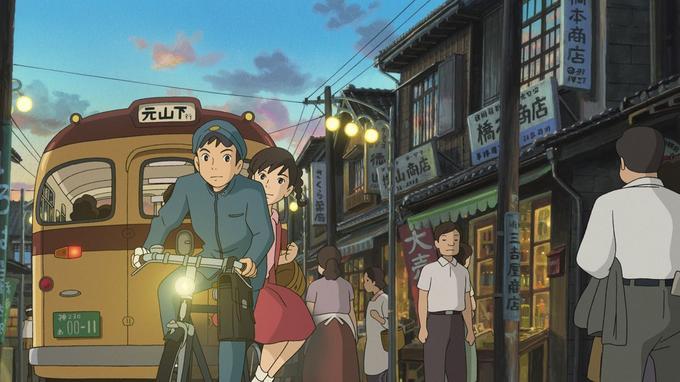 Pour «La Colline aux coquelicots» Hayao Miyazaki était scénariste et Goro Miyazaki, réalisateur.