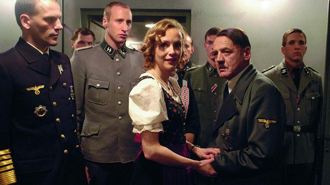 Bruno Ganz incarne Hitler lors des derniers jours du Führer dans son bunker dans le film «La chute». Un portrait saisissant à la fois par sa vraisemblance et sa complexité.