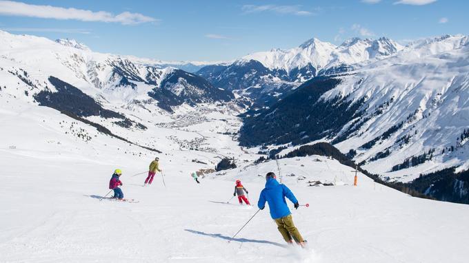 120 km de glisse sur le domaine Andermatt-Sedrun SkiArena