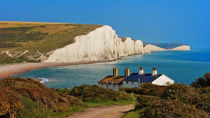 Le Seven Sisters Country Park est accessible en 45 minutes en bus depuis Brighton.