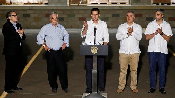 Venezuela : bras de fer aux frontières