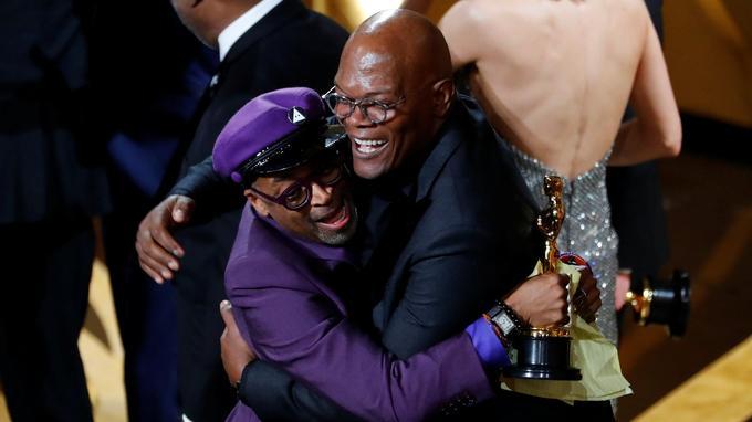 Spike Lee étreint son ami Samuel L. Jackson