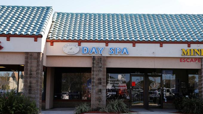 Le salon de massage Orchids of Asia Day Spa. <br/>