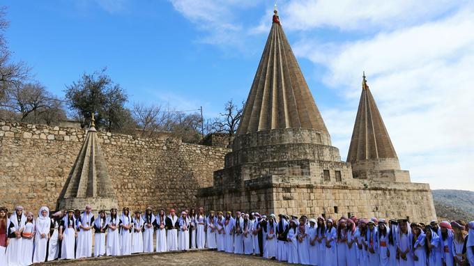 Les yézidis sont considérés comme des païens par l'État islamique.