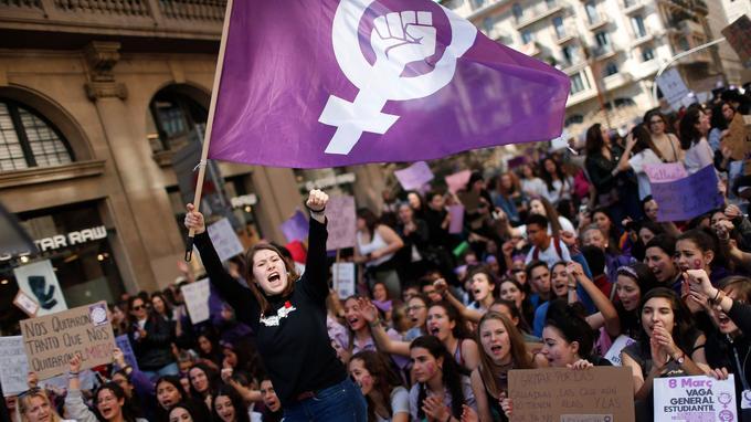 En Espagne, la lutte féministe est sous les projecteurs depuis quelques jours.