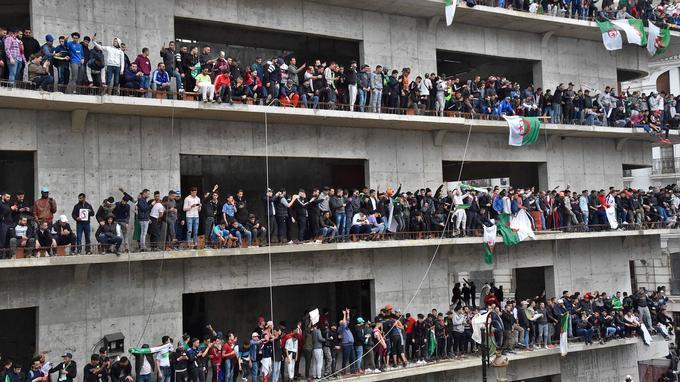 Alger, vendredi 8 mars.
