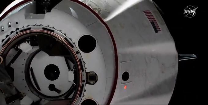 Première réussie pour Crew Dragon qui s'est détaché de l'ISS le 8 mars à 8h31.