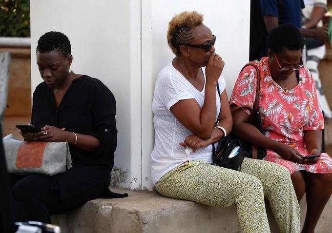 Inquiétude pour les proches des passagers à Nairobi.