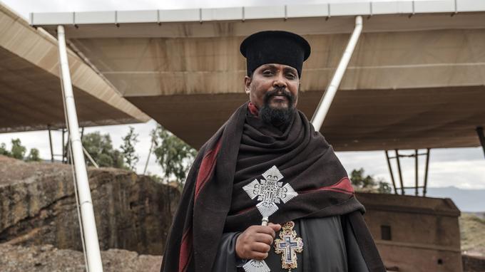 Plus de 60% de la population éthiopienne est chrétienne avec une majorité d'orthodoxes.