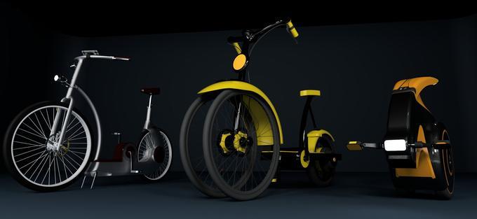 Le design du vélo U-feel n'est pas encore arrêté.