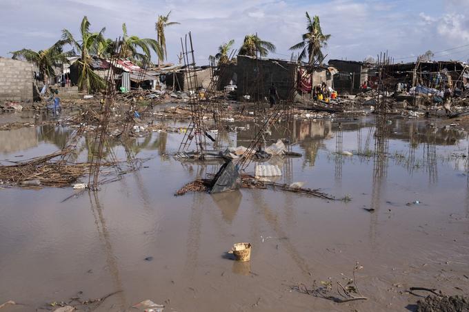 Idai, plus puissant cyclone survenu en Afrique australe depuis Eline en 2000.