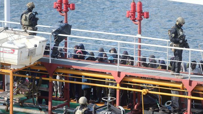 La marine maltaise est intervenue à bord du cargo.