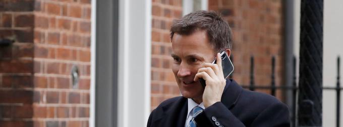 Le ministre des Affaires étrangères, Jeremy Hunt.