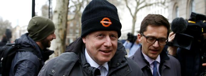 L'ancien maire de Londres, Boris Johnson.