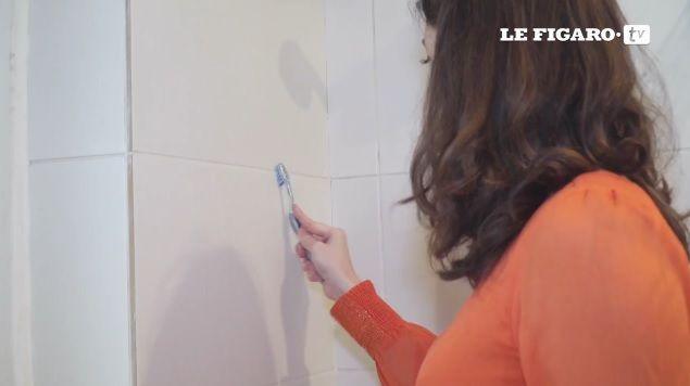 Comment nettoyer les joints de votre salle de bains - Comment nettoyer les joints de faience de salle de bain ...