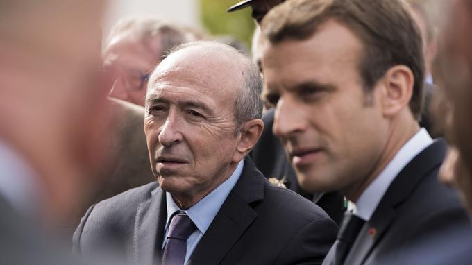 En privé, Gérard Collomb ne retient plus ses coups contre Emmanuel Macron