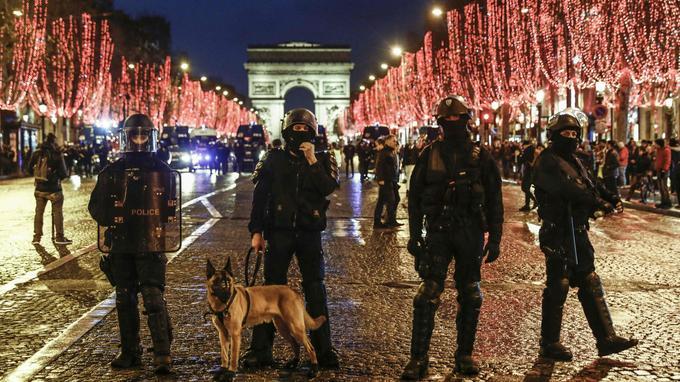 Acte VII des «gilets jaunes»: la police redoute de nouvelles tensions