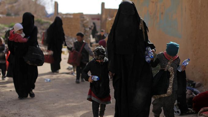 Syrie: la France n'envisage pas de rapatrier les enfants de djihadistes XVM1da71cfe-4635-11e9-8595-6818f33e116a
