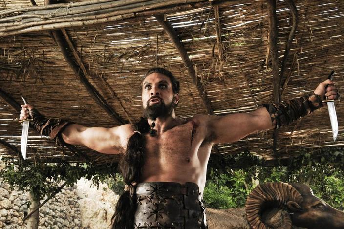 Khal Drogo, Dothraki (Jason Momoa).
