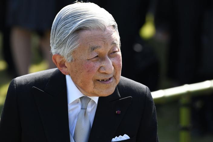 Akihito est l'empereur du Japon depuis 1989.
