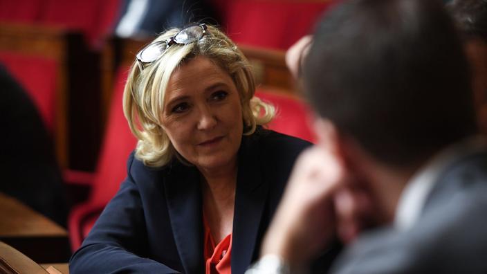Marine Le Pen espère de nouveau remporter les élections européennes.