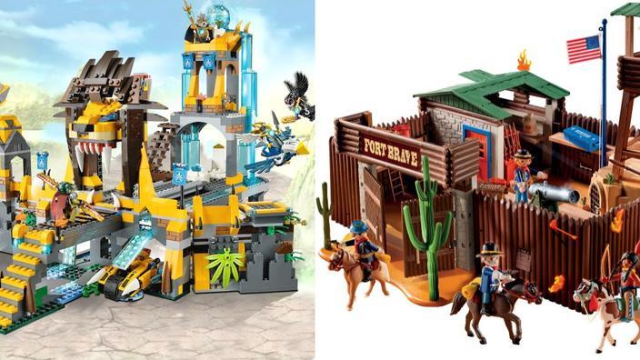 Lego Contre PlaymobilLe Match Des Stars Jouets wk8XNOn0P