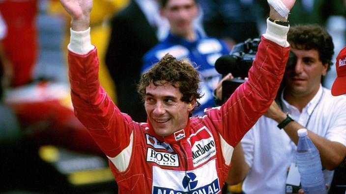 Un maillot des Corinthians en hommage à Ayrton Senna