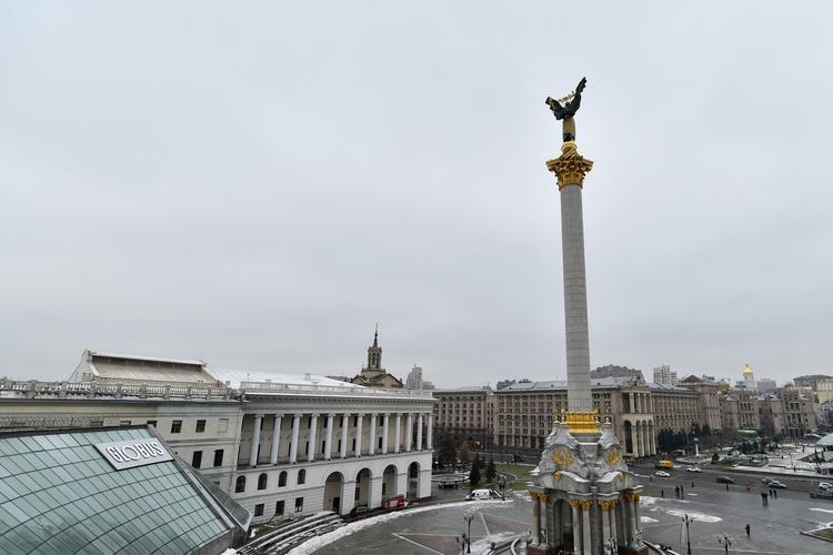 La place Maïdan à Kiev a été le lieu symbolique de la crise ukrainienne en 2014.