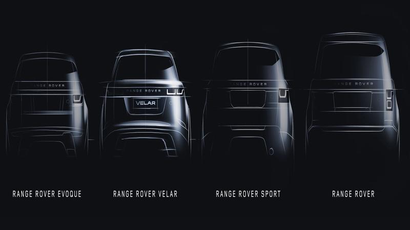 La famille Range Rover au grand complet.
