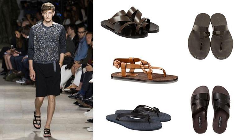 614b3574f93da5 De gauche à droite : silhouette Gucci, chaussures bateau John Lobb  (895€), chaussures bateau Sperry (120€), mocassins Bottega  Veneta (420€ ...