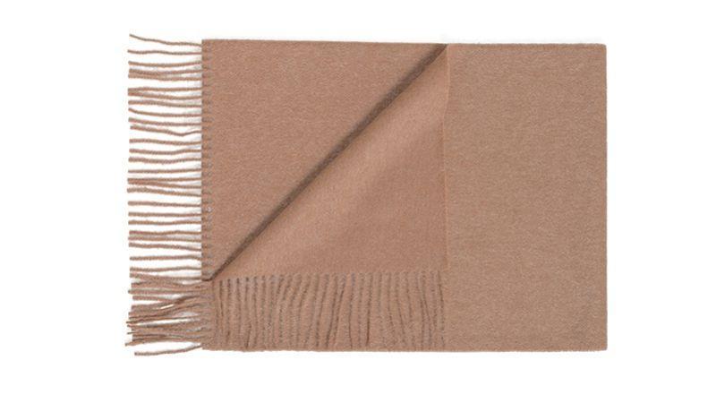 be30911714ff Echarpe en laine et cachemire, Maison Standards, 40   8364 . Écharpe en  laine à carreaux ...