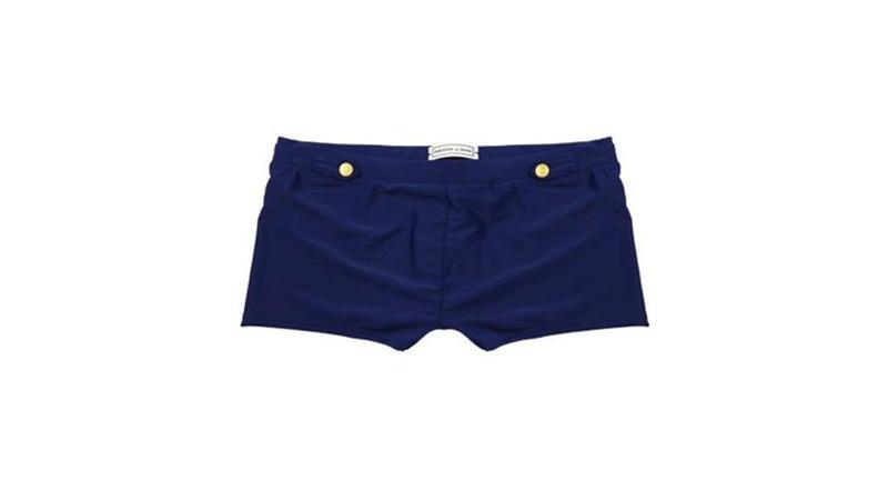 (gilis.com) Short à rayures ondulées 065a8f5c303