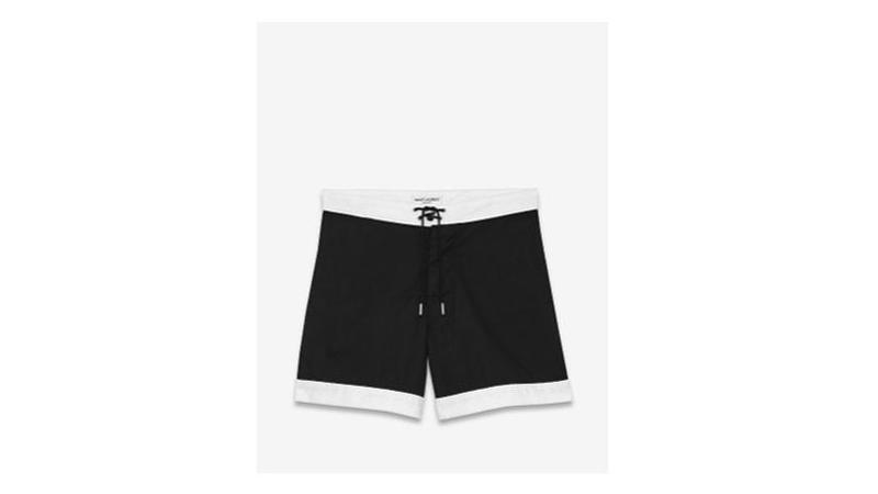 Short de bain en coton mélangé imprimé Vichy, Club Monaco, 113,49   8364 .  Boxer de bain à rayures muni d une ceinture décorative, ... 143cd335541