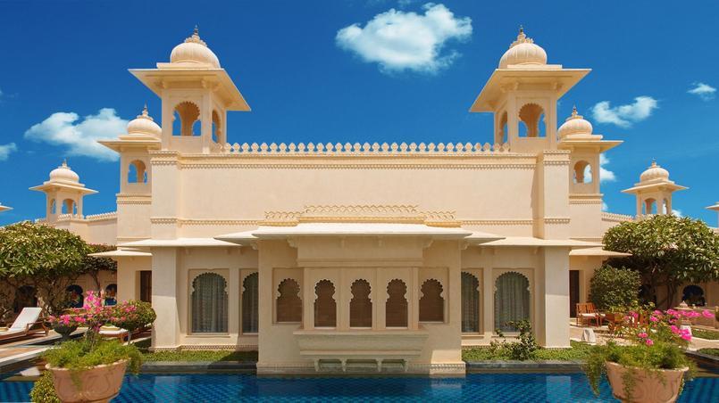 un palace indien nomm meilleur h tel du monde. Black Bedroom Furniture Sets. Home Design Ideas