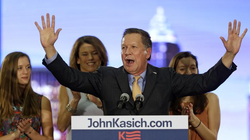 «Les principes conservateurs de bon sens marchent, je l'ai prouvé dans l'Ohio», a expliqué John Kasich, vainqueur mardi dans «son» État.