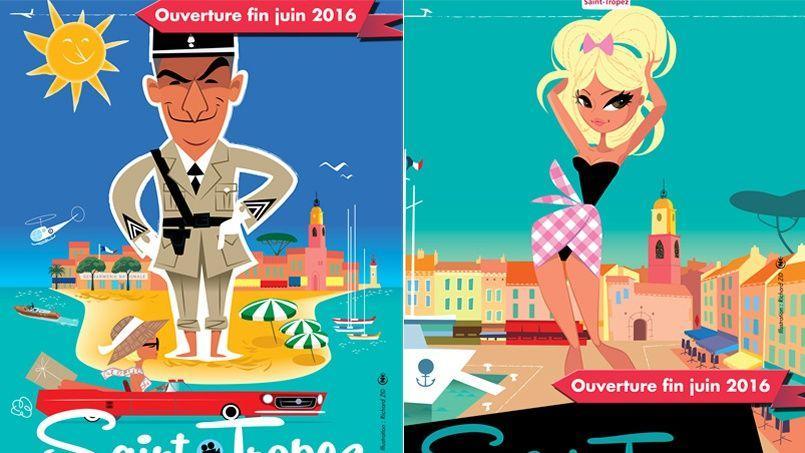 Louis de Funès et Brigitte Bardot sont les vedettes du Musée de la Gendarmerie et du Cinéma de Saint-Tropez.