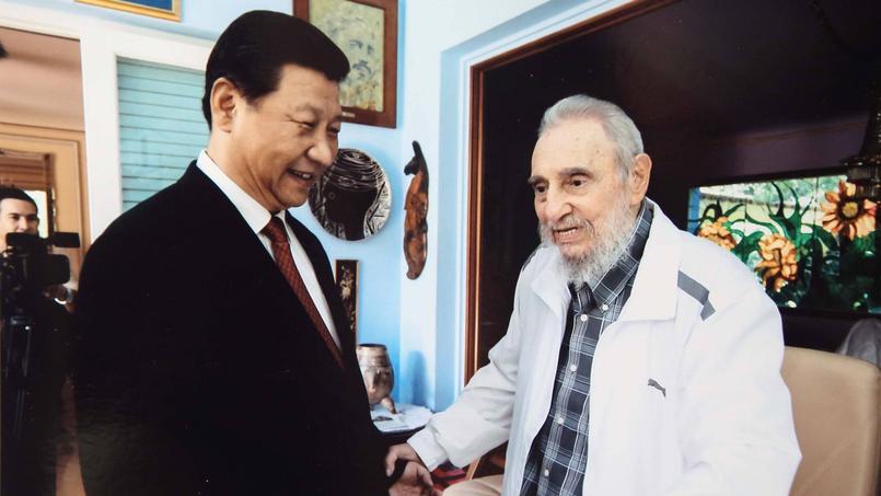 Ici en survêtement Puma lors d'une rencontre avec le président chinois Xi Jinping en 2014.