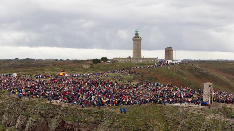 En 2014, le Cap Fréhel avait été pris d'assaut par les spectateurs.