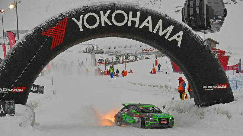 Épreuve du Trophée Andros à Val-Thorens en décembre dernier.