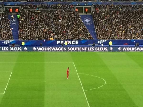 Volkswagen a piégé les spectateurs de France-Brésil avec une faute d'orthographe volontaire.