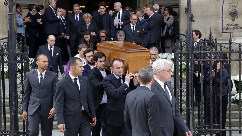 Obsèques de Patrice Dominguez en la Basilique Sainte-Clotilde de Paris.