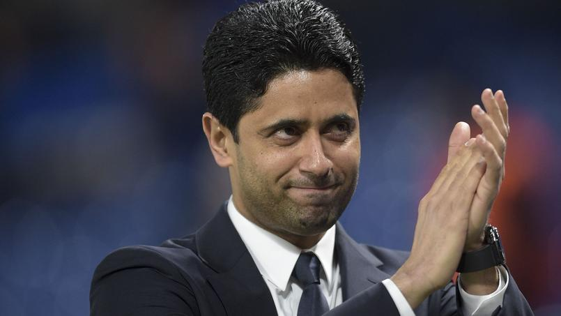 la mise en demeure du psg pour une caricature de nasser al khela fi. Black Bedroom Furniture Sets. Home Design Ideas
