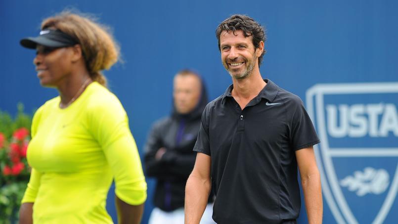 Patrick Mouratoglou est l'entraîneur de Serena Williams depuis 2012.