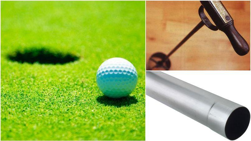 Pourquoi le diamètre des trous au golf est de 10,8 cm