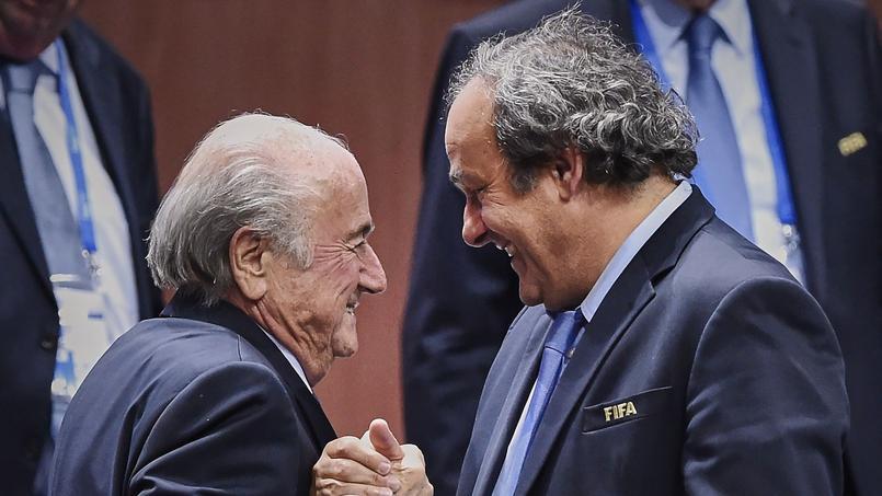 Sepp Blatter et Michel Platini, désormais meilleurs ennemis.