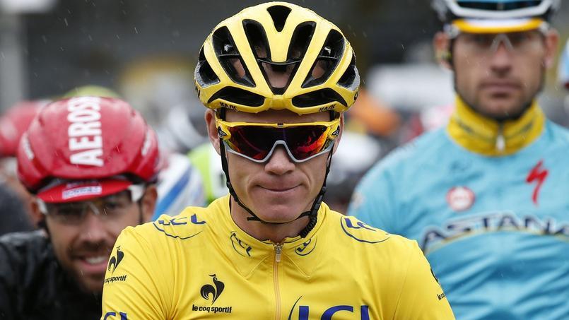 Christopher Froome, vainqueur du Tour de France 2015.