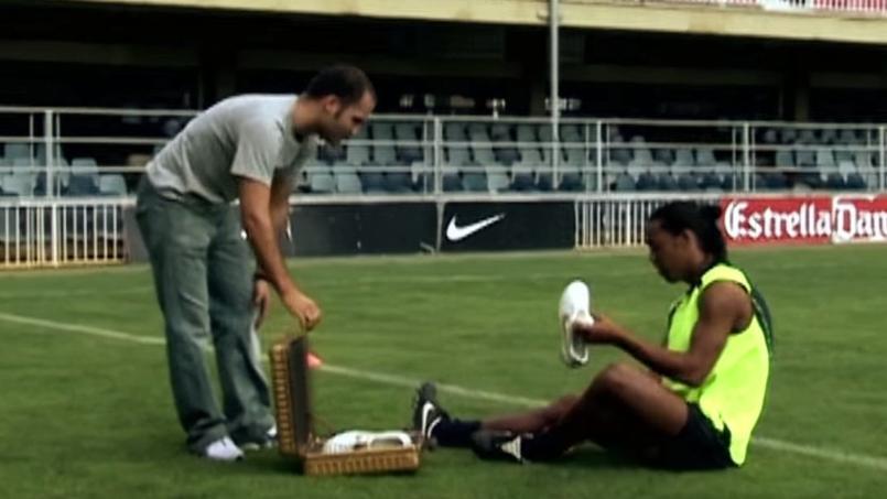 Ronaldinho faisait les beaux jours de Nike il y a dix ans.