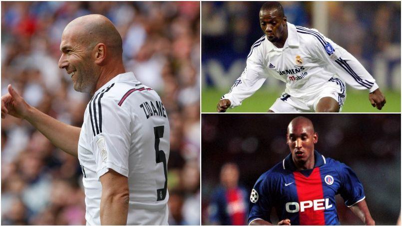 Zinédine Zidane, Claude Makelele et Nicolas Anelka occupent une bonne place dans le livre de Marc Roger.